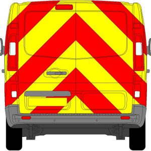 Vauxhall Vivaro Chevrons 2015 - Present (Full/Engineering)