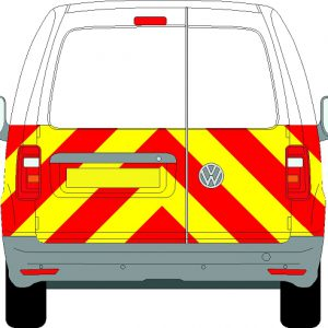 Volkswagen Caddy Chevrons 2004 - Present (Half/Engineering)