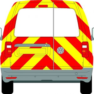 Volkswagen Caddy Chevrons 2004 - Present (Three Quarter/Prismatic)
