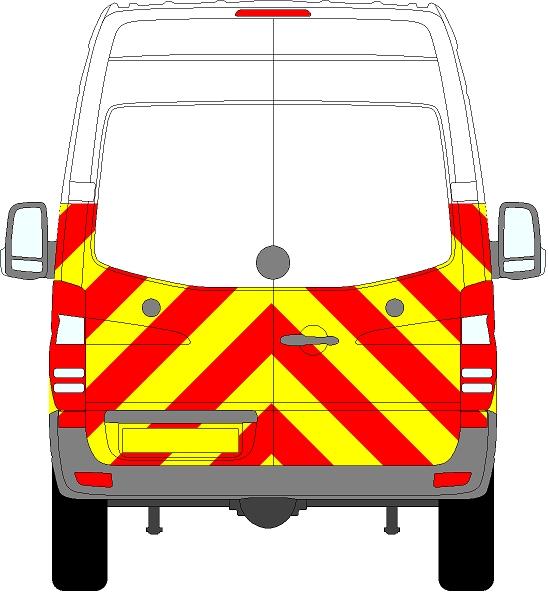 Volkswagen Crafter H2 Chevrons High Roof 2006 - 2017