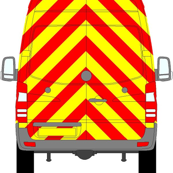 Volkswagen Crafter H2 Chevrons High Roof 2006 - 2017 (Full/Engineering)