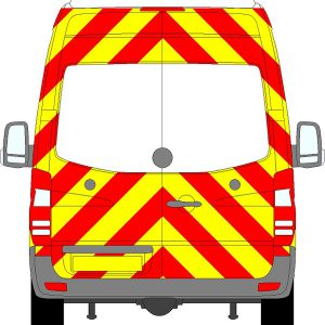 Volkswagen Crafter H3 Chevrons Super High Roof 2006 - 2017 (Three Quarter/Engineering)