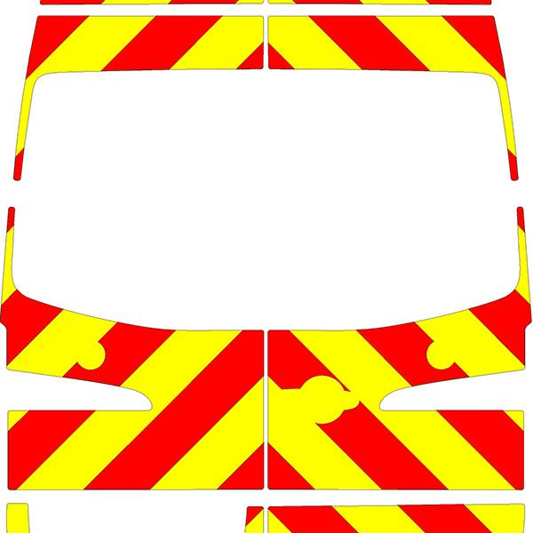 Volkswagen Crafter H3 Chevrons Super High Roof 2006 - 2017 (Three Quarter/Prismatic)