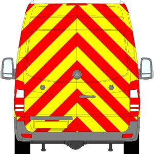 Volkswagen Crafter H3 Chevrons Super High Roof 2006 - 2017 (Full/Prismatic)