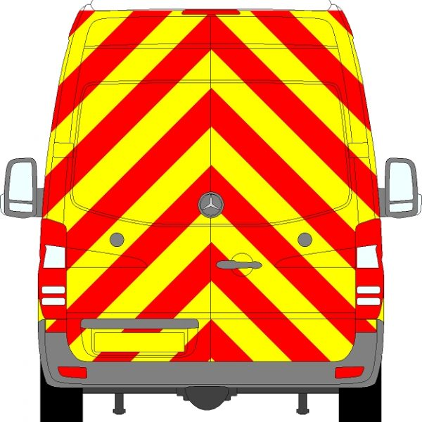 Volkswagen Crafter H3 Chevrons Super High Roof 2006 - 2017