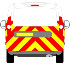 Vauxhall Combo Chevrons 2012-2018 (Half/Prismatic)