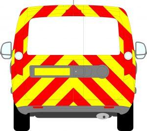 Vauxhall Combo Chevrons 2012 - 2018