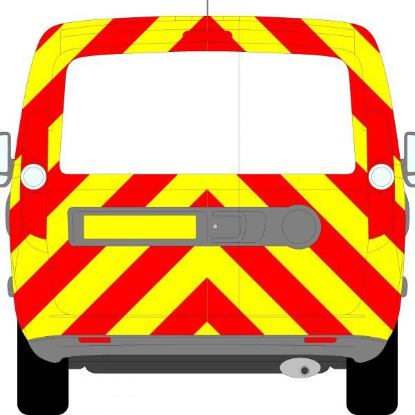 Vauxhall Combo Chevrons 2012 - 2018 (Three Quarter/Engineering)