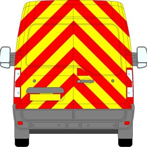 Vauxhall Movano H2 Chevrons Medium Roof 2010 - Present (Full/Engineering)