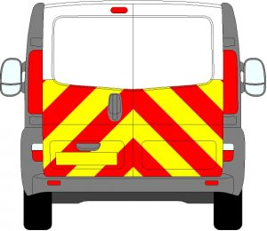 Vauxhall Vivaro Chevrons 2001 - 2014 (Half/Engineering)