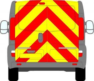 Vauxhall Vivaro Chevrons 2001 - 2014
