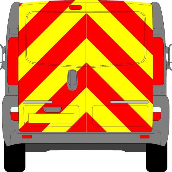 Vauxhall Vivaro Chevrons 2001 - 2014 (Full/Prismatic)
