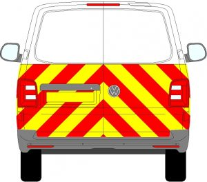 Volkswagen Transporter Chevrons 2015 - Present (Half/Engineering)