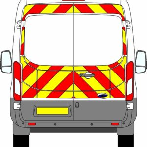 Ford Transit H2 Chevrons Medium Roof 2014 - Present (Three Quarter/Prismatic)
