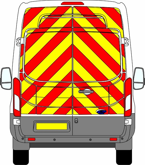 Ford Transit H3 Chevrons High Roof 2014 - Present (Full/Engineering)