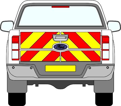 Ford Ranger Chevrons 2012 - Present (Full/Prismatic)