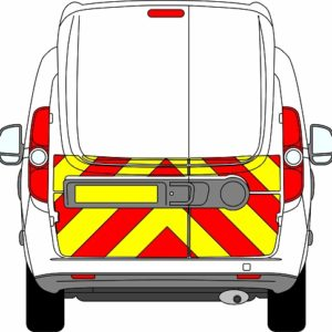 Fiat Doblo H3 Chevrons High Roof 2010-Present (Half/Prismatic)