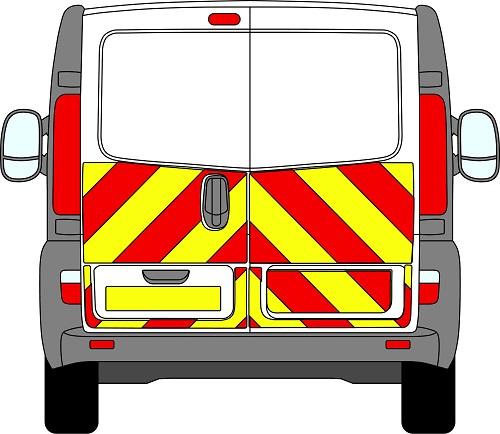 Vauxhall Vivaro Chevrons 2001 - 2014 (Half/Engineering)