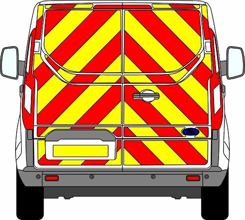 Ford Transit Custom H1 Chevrons Low Roof 2012 - Present (Full/Engineering)