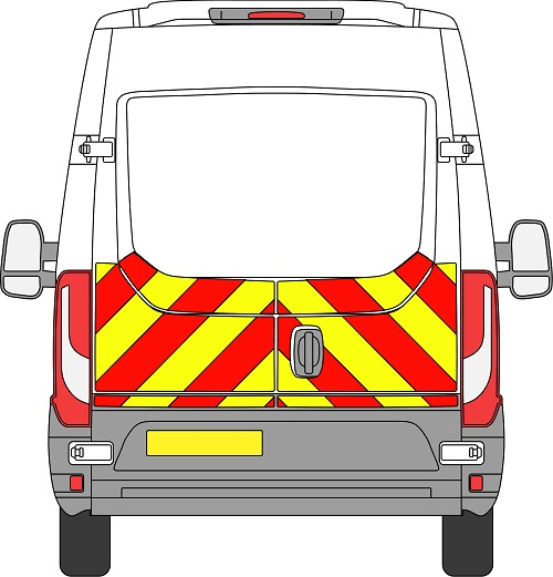 Iveco Daily H2 Chevrons Medium Roof 2014 – Present (Half/Engineering)
