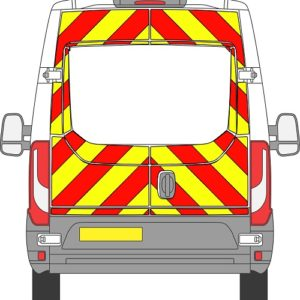 Iveco Daily H2 Chevrons Medium Roof 2014 – Present (Three Quarter/Engineering)