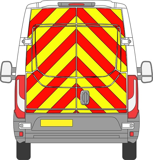 Iveco Daily H2 Chevrons Medium Roof 2014 - Present (Full/Engineering)
