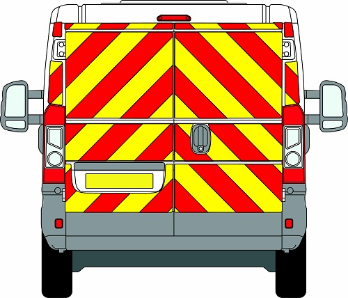 Citroen Relay H1 Chevrons Low Roof 2006 - Present (Full/Prismatic)
