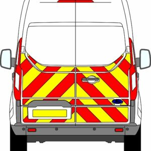 Ford Transit Custom H2 Chevrons Medium Roof 2012 - Present (Half/Engineering)