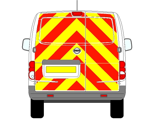 Nissan NV200 Chevrons 2009 - Present (Full/Engineering)