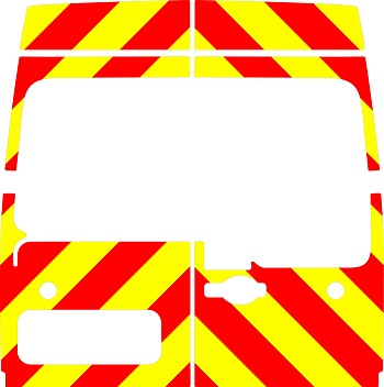 Renault Master H2 Chevrons Medium Roof 2010 - Present (Three Quarter/Engineering)