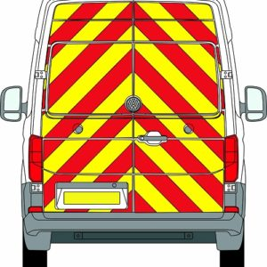 Volkswagen Crafter New H2 Chevrons High Roof 2017 - Present (Full/Engineering)