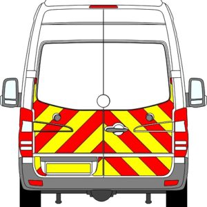Volkswagen Crafter H3 Chevrons Super High Roof 2006-2017 (Half/Prismatic)