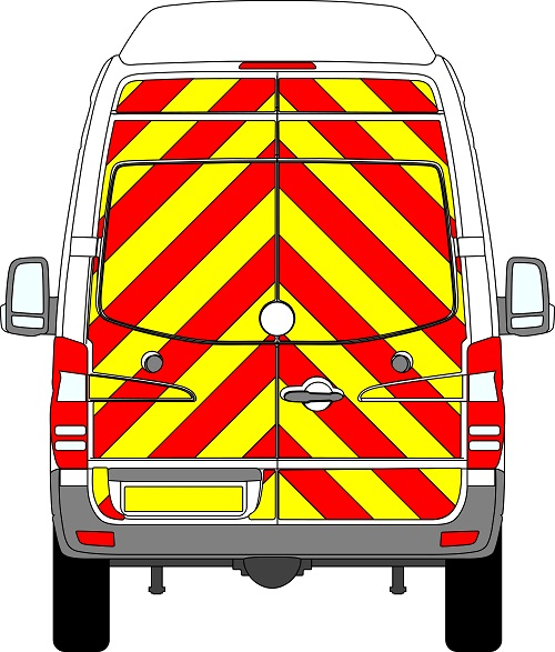 Volkswagen Crafter H3 Chevrons Super High Roof 2006 -2017 (Full/Engineering)
