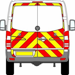 Mercedes Sprinter H1 Chevrons Standard Roof 2009 - 2018 (Three Quarter/Engineering)