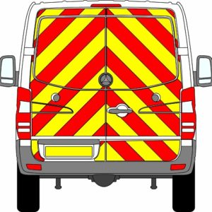 Mercedes Sprinter H1 Chevrons Standard Roof 2009 - 2018 (Full/Engineering)