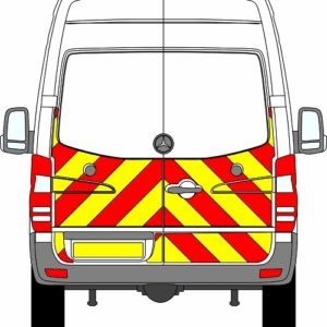 Mercedes Sprinter H2 Chevrons High Roof 2009 - 2018 (Half/Engineering)