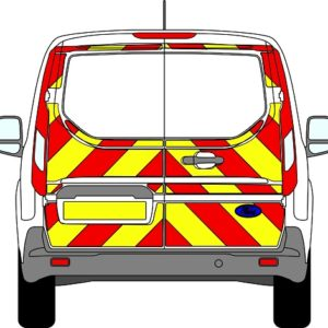 Ford Transit Connect Chevrons 2013 - Present (Three Quarter/Engineering)