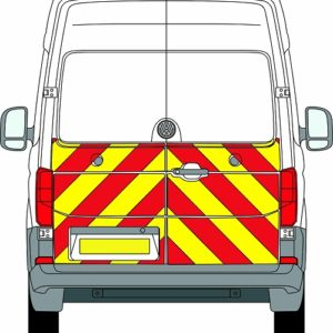 Volkswagen Crafter New H2 Chevrons High Roof 2017 - Present (Half/Engineering)