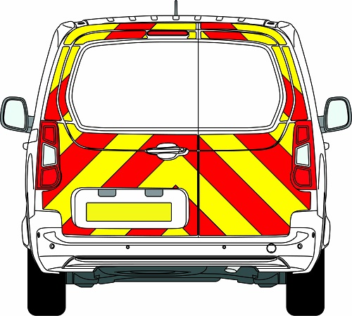 Citroen Berlingo Chevrons 2008 - Present (Three Quarter/Prismatic)