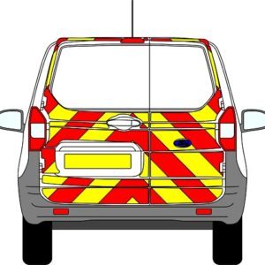 Ford Courier Chevrons 2014 - Present (Three Quarter/Engineering)