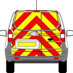 Ford Courier Chevrons 2014 - Present (Full/Prismatic)