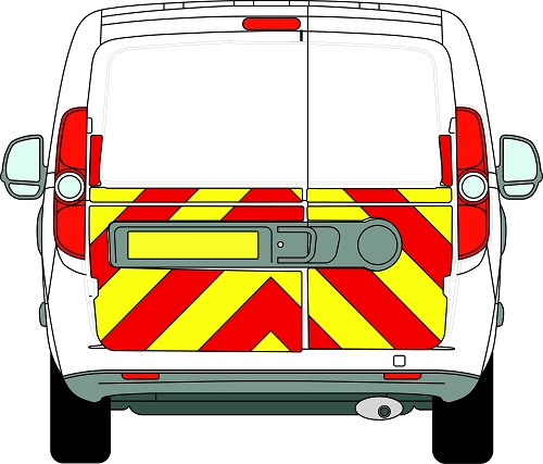 Fiat Doblo Chevrons Low Roof 2010 - Present (Half/Prismatic)