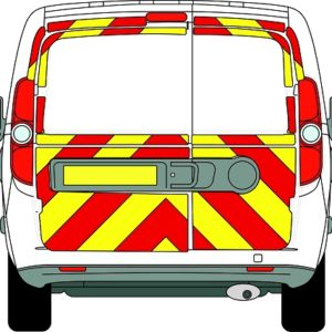 Fiat Doblo Chevrons Low Roof 2010 - Present (Three Quarter/Engineering)