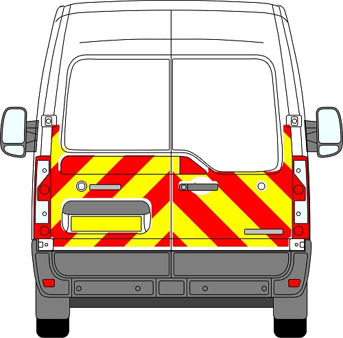 Renault Master H2 Chevrons Medium Roof 2010 - Present (Half/Engineering)