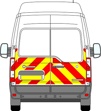 Renault Master H3 Chevrons High Roof 2010 - Present (Half/Engineering)