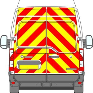 Vauxhall Movano H3 Chevrons High Roof 2010 - Present (Full/Engineering)