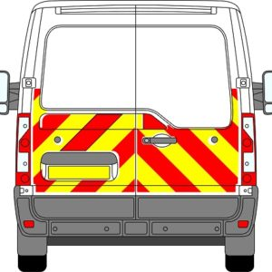 Renault Master H1 Chevrons Low Roof 2010 - Present (Half/Engineering)