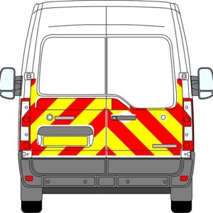 Nissan NV400 H2 Chevrons Medium Roof 2010 - Present (Half/Engineering)