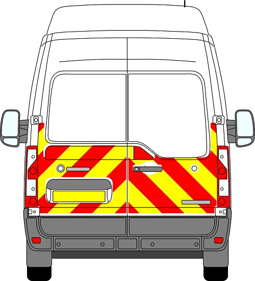 Nissan NV400 H3 Chevrons High Roof 2010 - Present (Half/Engineering)