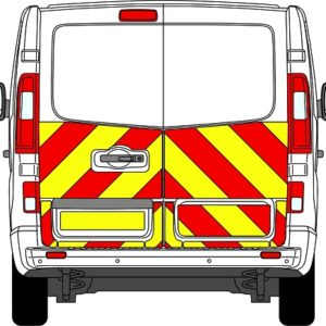 Nissan NV300 Chevrons 2014 - Present (Half/Engineering)
